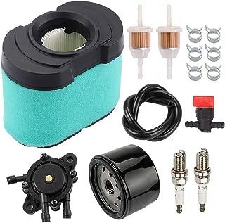 Savior MIU11517 Air Filter AM125424 Oil Filter LG808656 Fuel Pump for John Deere MIU11515 GY21057 D150 D160 D170 E160 E170 E180 Tractor Craftsman YT4000 YT4500 GT5000 GT5600