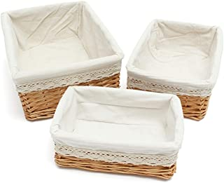 willow storage baskets uk