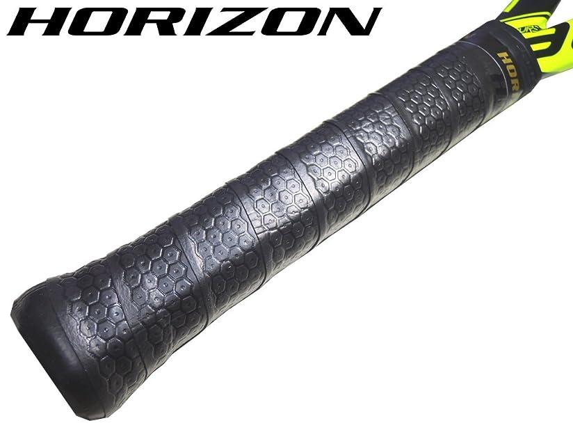 意欲残り僕の【HORIZONホライズン】10本セット 手に吸い付く オクトパス ウェット オーバーグリップテープ ブラック 硬式テニスグリップ用