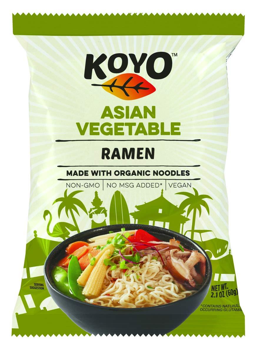 Koyo Ramen Soup Asian free shipping Vegetable With Organic Noodles Made Ranking TOP4 No