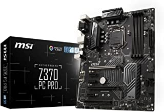 Z370 PC Pro - Placa Base Pro (chipset Intel Z370, Socket LGA 1151, 6 x SATA 6Gb/s, 2 x Turbo M.2, DDR4 Boost, Intel I219-V LAN)