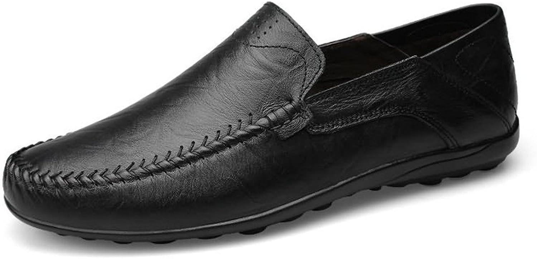 2018 nya mäns mäns mäns loafers glider på komfortabla mockasiner Leisure Style skor (färg  svart, storlek  9 UK)  billigare