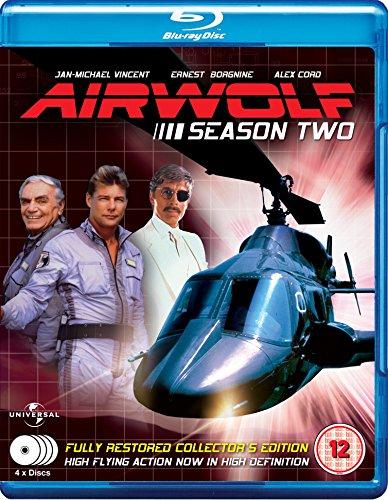 Airwolf - Complete Season 2 (4 Disc Box Set) [Blu-ray] [UK Import]