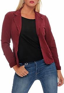 Malito Clásico Chaqueta en el Básico Chaqueta del Sudor Business 1651 Mujer
