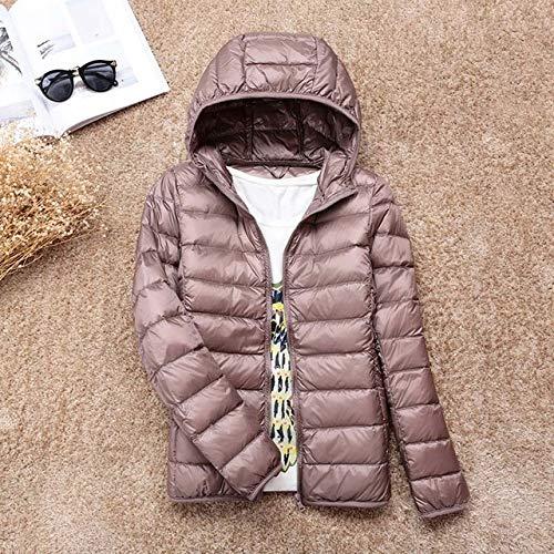 YRFHQB Nieuwe Winter Warm Ultra Licht 90% Down Jacket Vrouwen Down Coat Met Tas Vrouwen Dunne Hooded Herfst Jassen