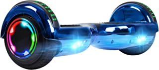 blue segway with bluetooth