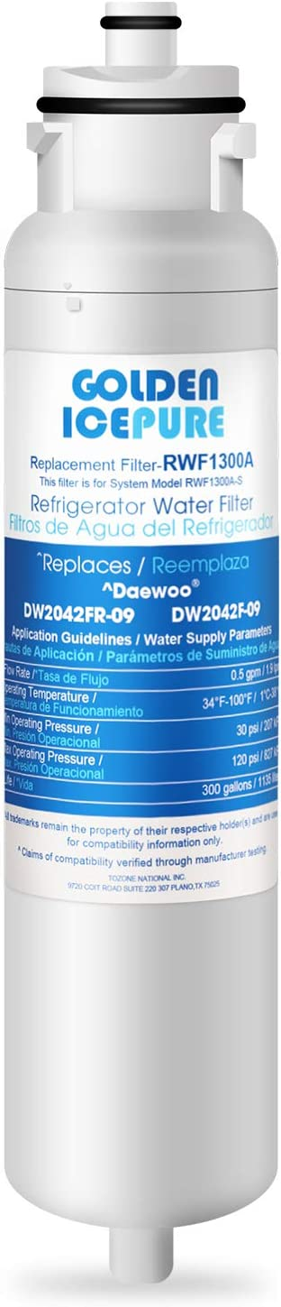 GOLDEN ICEPURE DW2042FR-09 Aqua Filter OFFicial store Ranking TOP3 Water Crystal Replacement