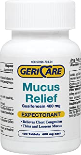Gericare Mucus Relief-100 Tablets