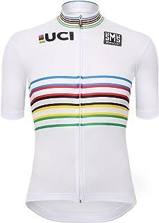 Santini 男士 UCI 世界冠军主设计短袖运动衫