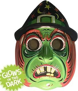 Retro-a-go-go Classic Witch Vac-Tastic Plastic Mask