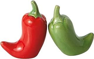 Chili Peppers Ceramic Salt and Pepper Shaker