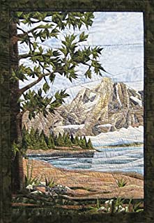Teton Mountains - NEW Form of Foundation Paper Piecing (Picture Piecing) Pattern - 26