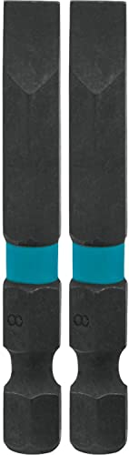 new arrival Makita online A-96796 Impactx 8 Slotted 2″ Power Bit, high quality 2 Pack outlet sale