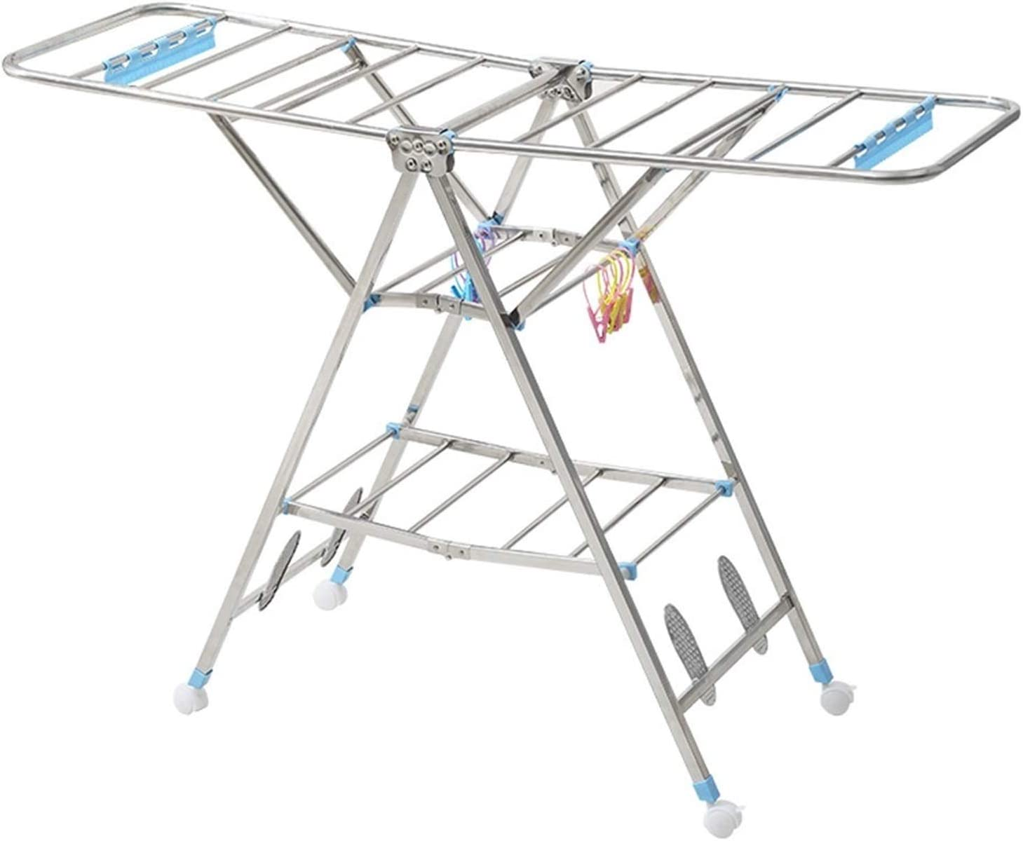 XIAOQIU Challenge the lowest price of Japan Clothes Drying Rack Gorgeous for Tier Sta Laundry 3 Airer