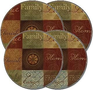 Family Sentiments Inspirational Burner Covers by RangeKleen 5079