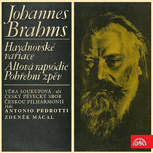 Věra Soukupová, Antonio Pedrotti, Zdeněk Mácal, Josef Veselka, Czech Philharmonic, Prague Philharmonic Choir