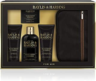 Baylis & Harding Men's Box Set, Black Pepper & Ginseng