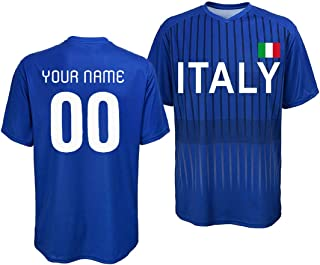 Custom Italy Jersey - Adult and Youth