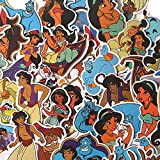 BLOUR Paquete de Pegatinas de Dibujos Animados de 39 Piezas para calcomanías de decoración del hogar portátil álbum de Recortes DIY Pegatina LD