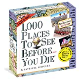 1,000 Places to See Before You Die Page-A-Day Calendar 2020