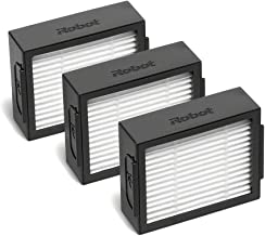 High Efficiency Filters (3x) - Compatible with Roomba e/i Series - Black