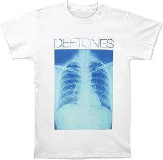 Deftones Men's X-Ray 2012 Tour Slim Fit T-Shirt White