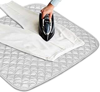 Eutuxia Magnetic Ironing Blanket. Alternative for Iron Board. Portable Cover for Washer, Dryer, Table, Bed, Countertop. Dry Safe & Heat Resistant Pad. Quilted Laundry Mat fo Everywhere.[23 x 20.5 in]