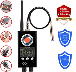 Anti-Spy Wireless RF Signal Detector Bug Camera Signal Detector for Hidden Camera GSM Listening Device GPS Tracker Detector Radar Radio Scanner Wireless Signal Device Finder