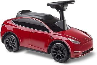 zeyujie Juguetes de vehículos de Viaje, Auto de Patinaje Infantil, bebé de 1 a 4 años, Coche de Pedal, Andador Deslizante, Tesla, niños