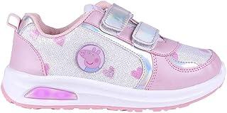 CERDÁ LIFE'S LITTLE MOMENTS Zapatillas con Luces para Niñas de Peppa Pig con Licencia Oficial Nickelodeon, Deportivas