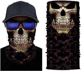 Aadiju Multifunctional Headwear Face Mask Headband Neck Gaiter Bandanas for Dust, Outdoors, Festivals, Sports