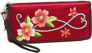 HangErFeng Women's Handbag Silk Hand Embroidered Chinese Wallet Gift Packaging H1055