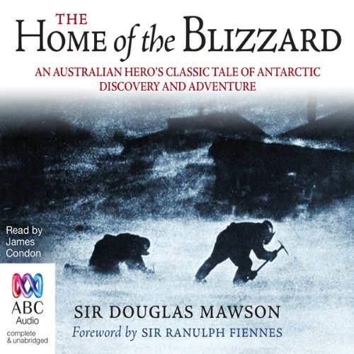 Home of the Blizzard audiobook cover art