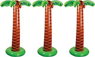 Happy Deals - Juego de 3 palmeras hinchables grandes de 66 pulgadas