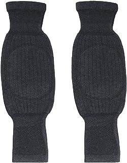 comprar comparacion Rodilleras unisex suaves, transpirables y térmicas para invierno, en cálida lana y cachemir con almohadilla ...