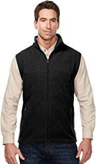 Tri-Mountain Men's Anti-Pilling Performance Fleece Zippered Expedition Vest (5 Colors,S-4XLT)