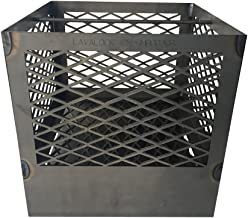 LavaLock UDS 55 Gallon charcoal firebox basket for Ugly Drum Smoker WITH legs and ash pan