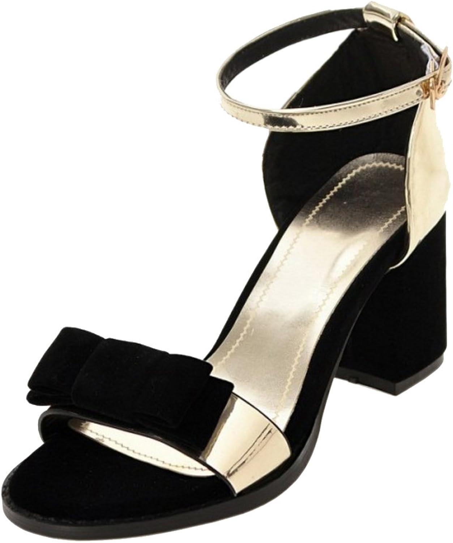 KemeKiss Women Block Heel Sandals
