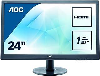 AOC Monitores E2460SH - Monitor de 24