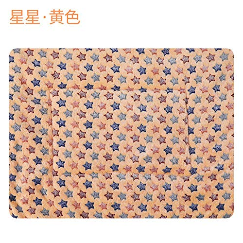 Dog Beds Dog Houses Kennel Winter Warm Fleece Dog Bed Pet Blanket Cat Litter Puppy Sleep Mat Lovely Mattress Cushion For Small And Large Dogs 8 Colors 70X50Cm 7