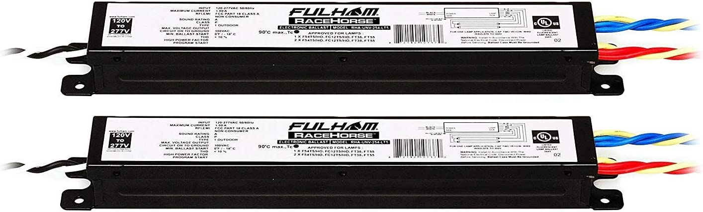Fulham Lighting Racehorse Linear Ballast for 2 送料無料 激安 お買い得 キ゛フト 蔵 T5HO Pac