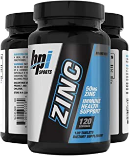 Zinc 50mg 120 Tablets one a Day Immune Support Booster Zinc Gluconate