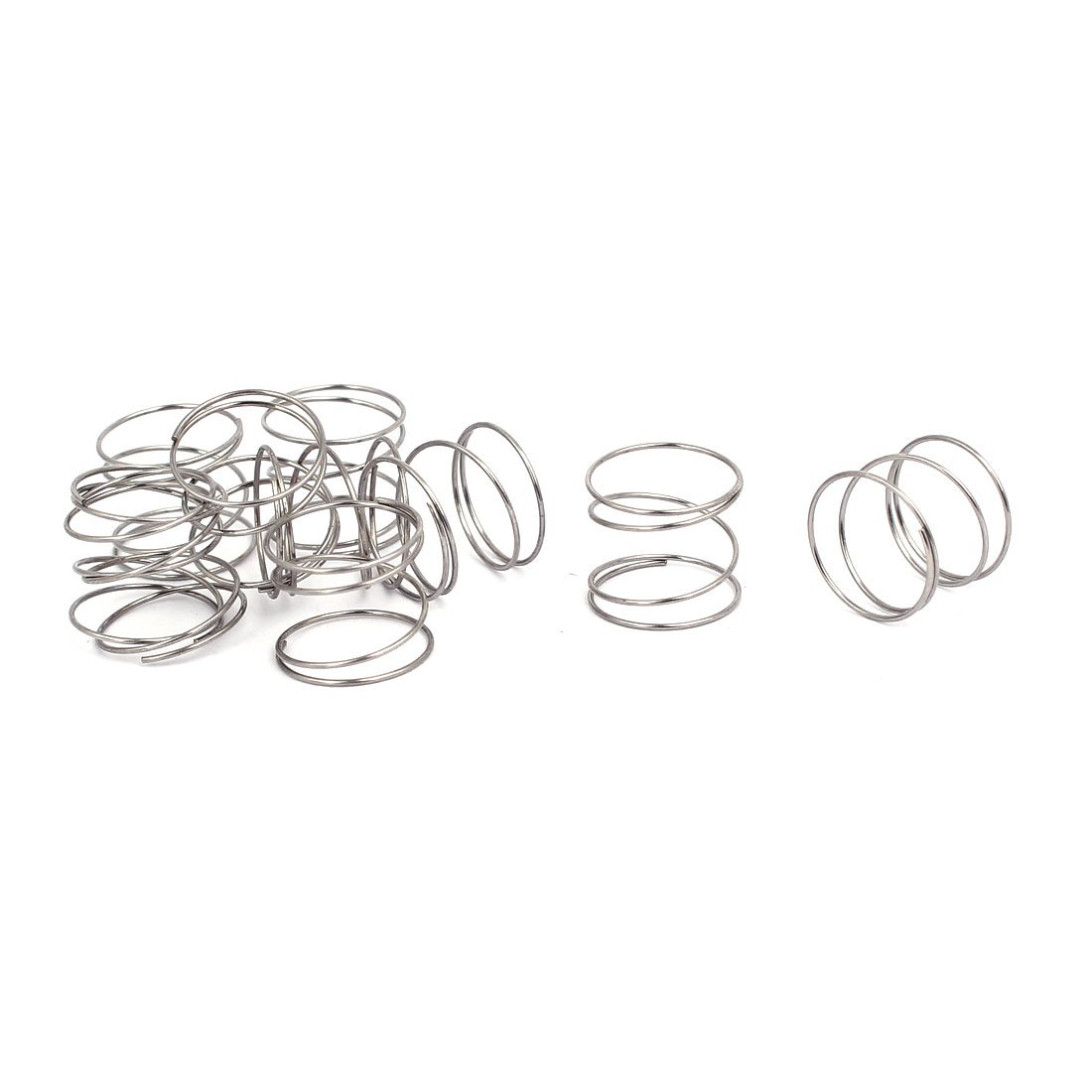 uxcell Compression Spring New color 304 Stainless OD 0.5mm 12mm lowest price Steel Wire