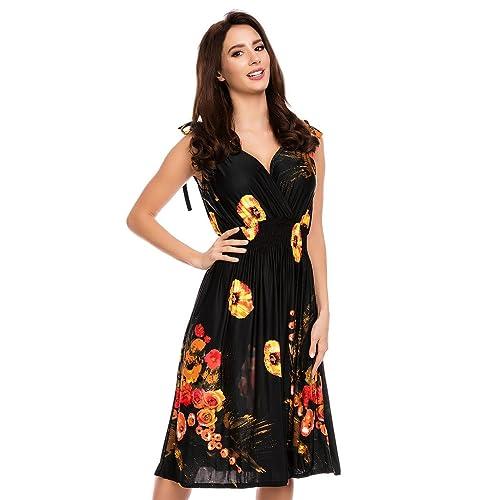 56fca9f4aee Short Soft Summer Womens Casual Holiday Dress