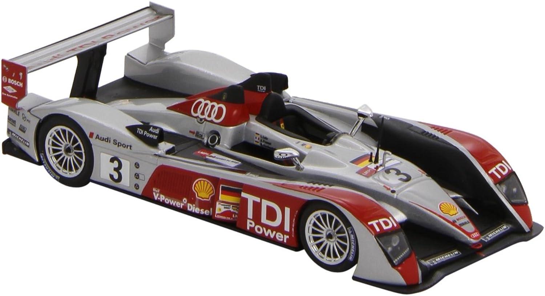 Minichamps 400071603 Model Car  Audi R10 24H Le Mans 07 Luhr  1 43 Scale