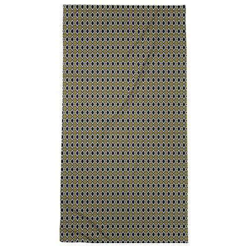 Artverse Artverse Katelyn Elizabeth Classic Geometric Diamonds Beach Towel Microfiber 36 X 72 Yellow From Amazon Shefinds