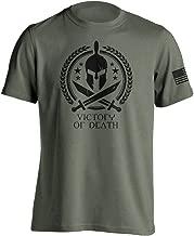 Dion Wear Spartan Warrior Molon Labe T-Shirt