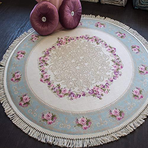Brillant Teppich Teppich 150 x 150 cm rund rutschfest pflegeleicht rund Fashion 806