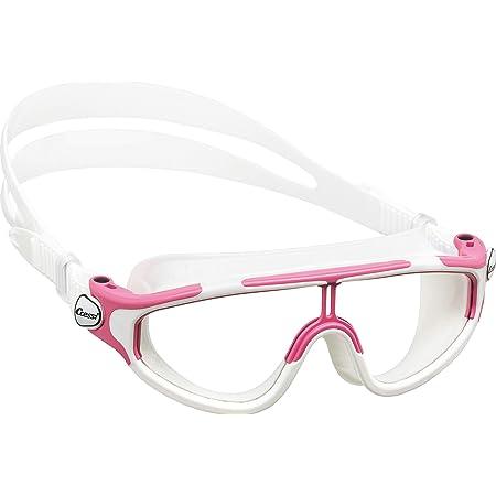 Cressi Gafas de natación, Unisex niños, Rosa/Blanco, 2/7 Años-Baloo