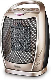 Calentador: Calentador eléctrico de calefacción de cerámica PTC para baño doméstico, pequeño Calentador de Aire Caliente Vertical de Ahorro de energía, sacudiendo la Cabeza para Calentar